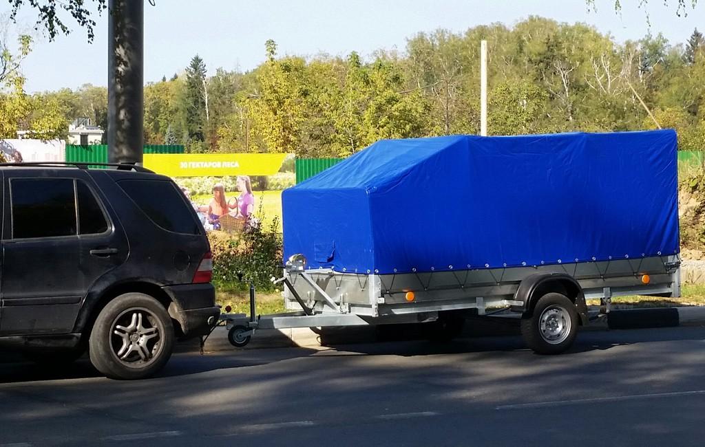 Аренда прицепа для перевозки квадроцикла (ATV) в Москве